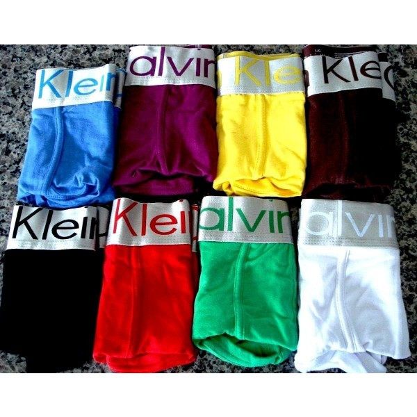 Kit C/ 10 Cueca Boxer Calvin Klein