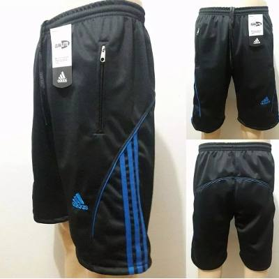 Kit C/5 Bermudas Masculinas Adidas Com Bolso com Zíper