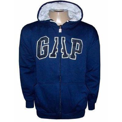 Kit 2 Blusas De Moletom Gap Masculina Capuz Ziper