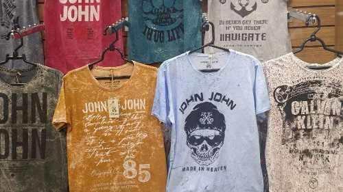 Kit 10 Camisas Masculinas John John Calvin Klein