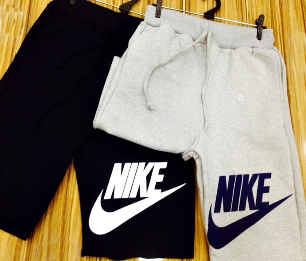Kit 10 Bermuda Moletom Masculina Nike
