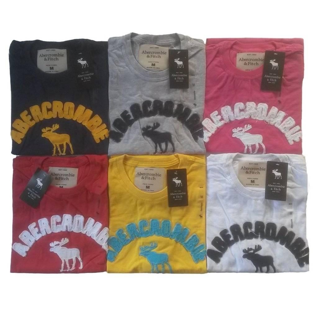 Kit C/ 50 Camisetas Masculinas Bordadas Diversas Marcas