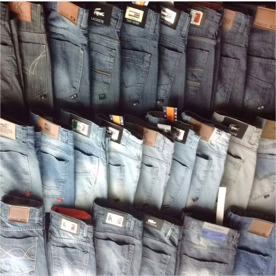 Kit C/ 20 Calças Jeans Masculinas Diversas Marcas