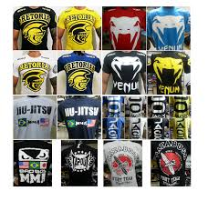 KIT 10 CAMISETA MASCULINA MMA UFC ALGODÃO FIO 30.1 ESTAMPADA