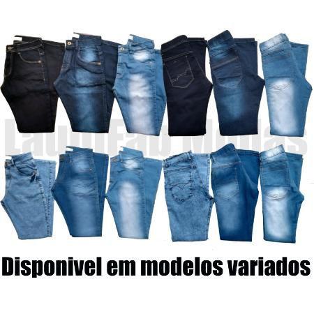 KIT 20 CALÇAS JEANS MASCULINA DIVERSOS MODELOS