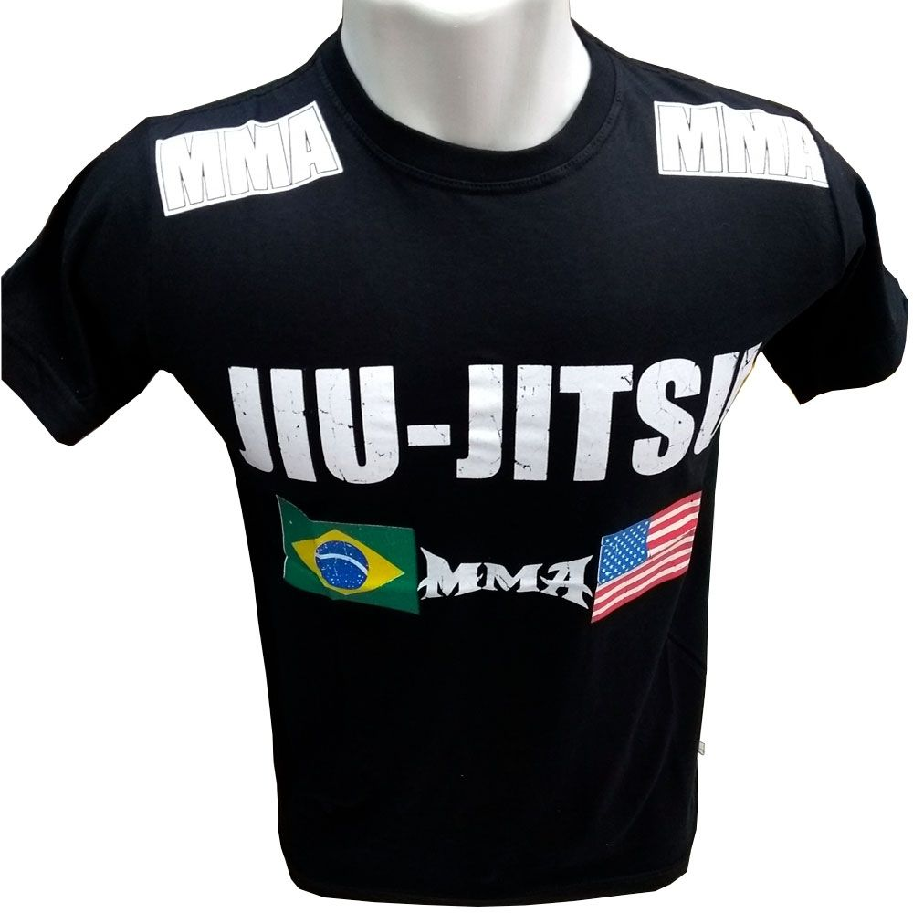 KIT 20 CAMISETA MASCULINA MMA UFC ALGODÃO FIO 30.1 ESTAMPADA