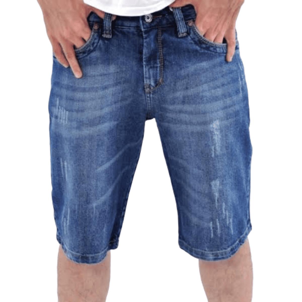 Kit 2 Bermuda Short Jeans Masculina Atacado Revenda E Lucre
