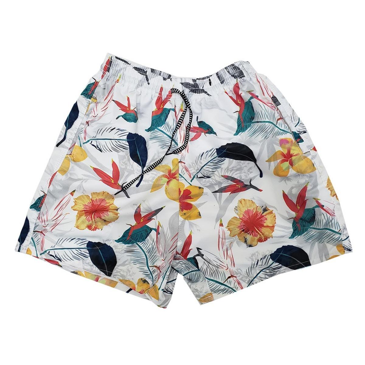 Kit 3 Shorts Mauricinho Bermudas Moda Praia Estilo Neymar