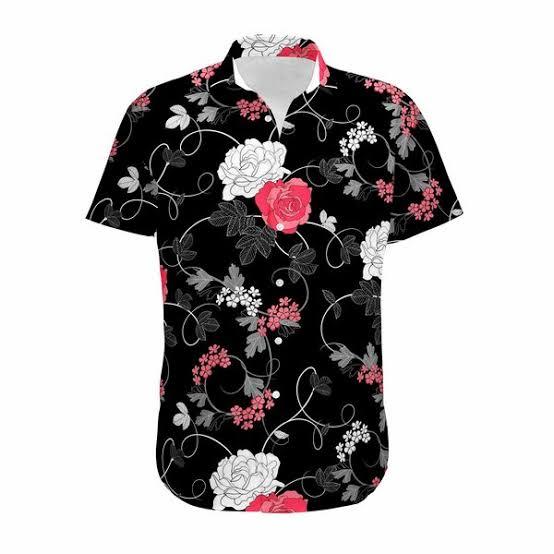 Kit 4 Camisas Floral Florida Masculina Havaiana Estampa