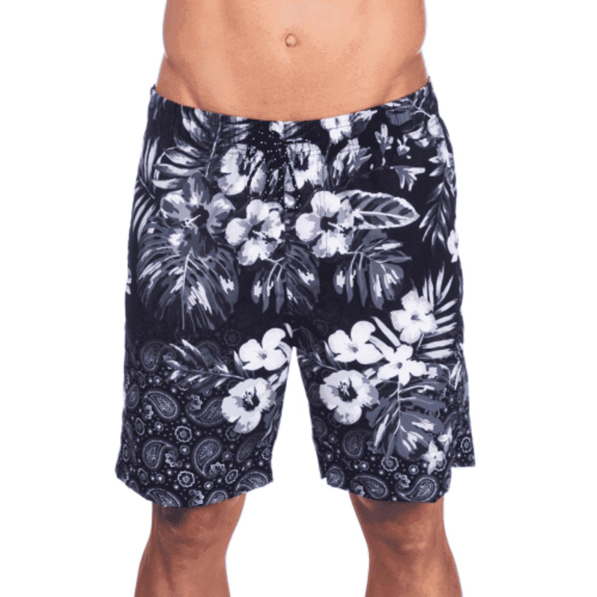 Kit 4 Short Bermuda Moletom Masculina Florida Floral Atacado