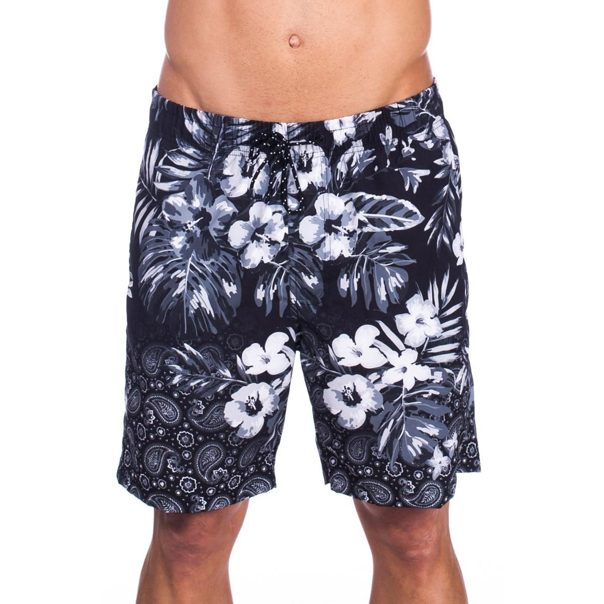 KIT 50 Short Bermuda Moletom Masculina Florida Floral Atacado