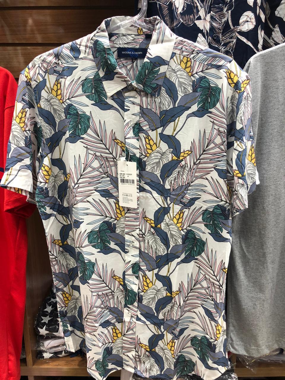 Kit 7 Camisas Floral Florida Masculina Havaiana Estampa
