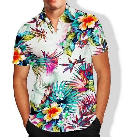 Kit 8 Camisas Floral Florida Masculina Havaiana Estampa Magazinshop Moda Masculina Feminina E Infantil Cama Mesa E Banho