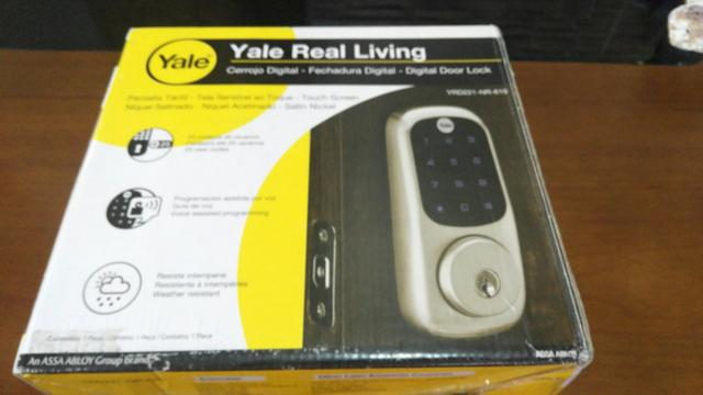 Fechadura Digital Yale YRD 221