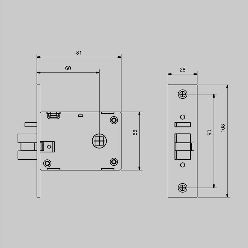 Fechadura Biométrica Ébano 400 - E400