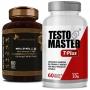 Kit Libido   Ginseng Panax (Ren Shen) 400mg + Testomaster T-Plus (Lepidium Meyenii) 550 mg - 60 (cáps) cada