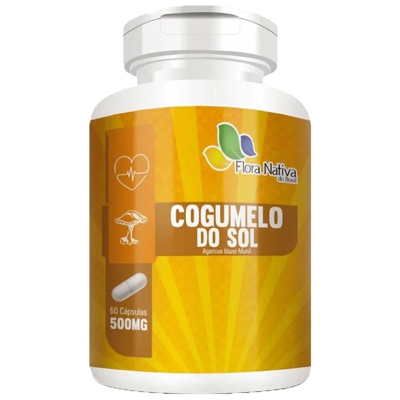 Cogumelo do Sol Agaricus Blazei Munil 500mg - 60 cápsulas