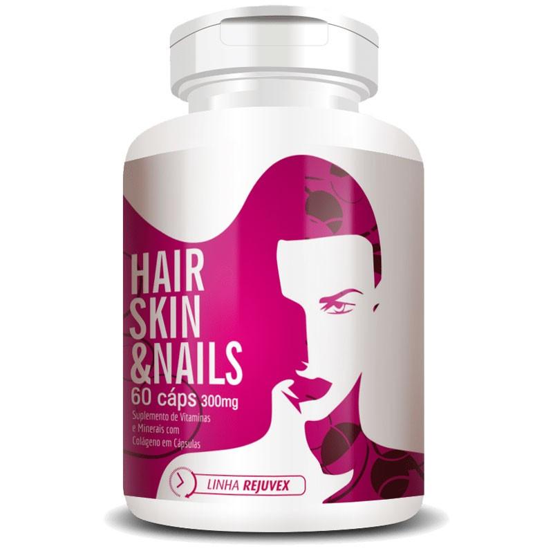 Hair Skin & Nails Mulher | Cabelos, Unhas e Pele - 1 Pt (60 cáps)