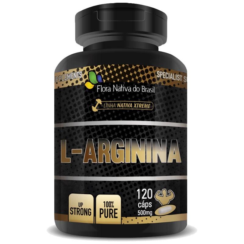L-Arginina Pure 500mg - 120 cápsulas