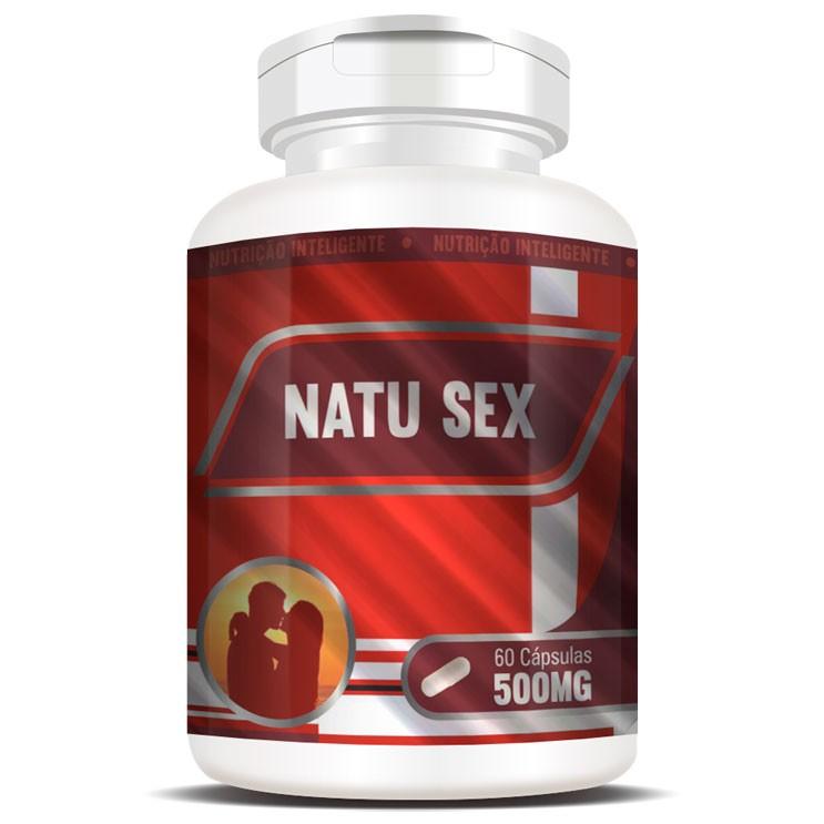 NatuSex 500mg - Original - 60 cápsulas