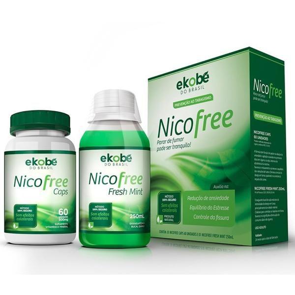 Nicofree - Kit - Original - Cápsulas + Enxaguante Bucal