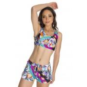 Short feminino de Praia Verão