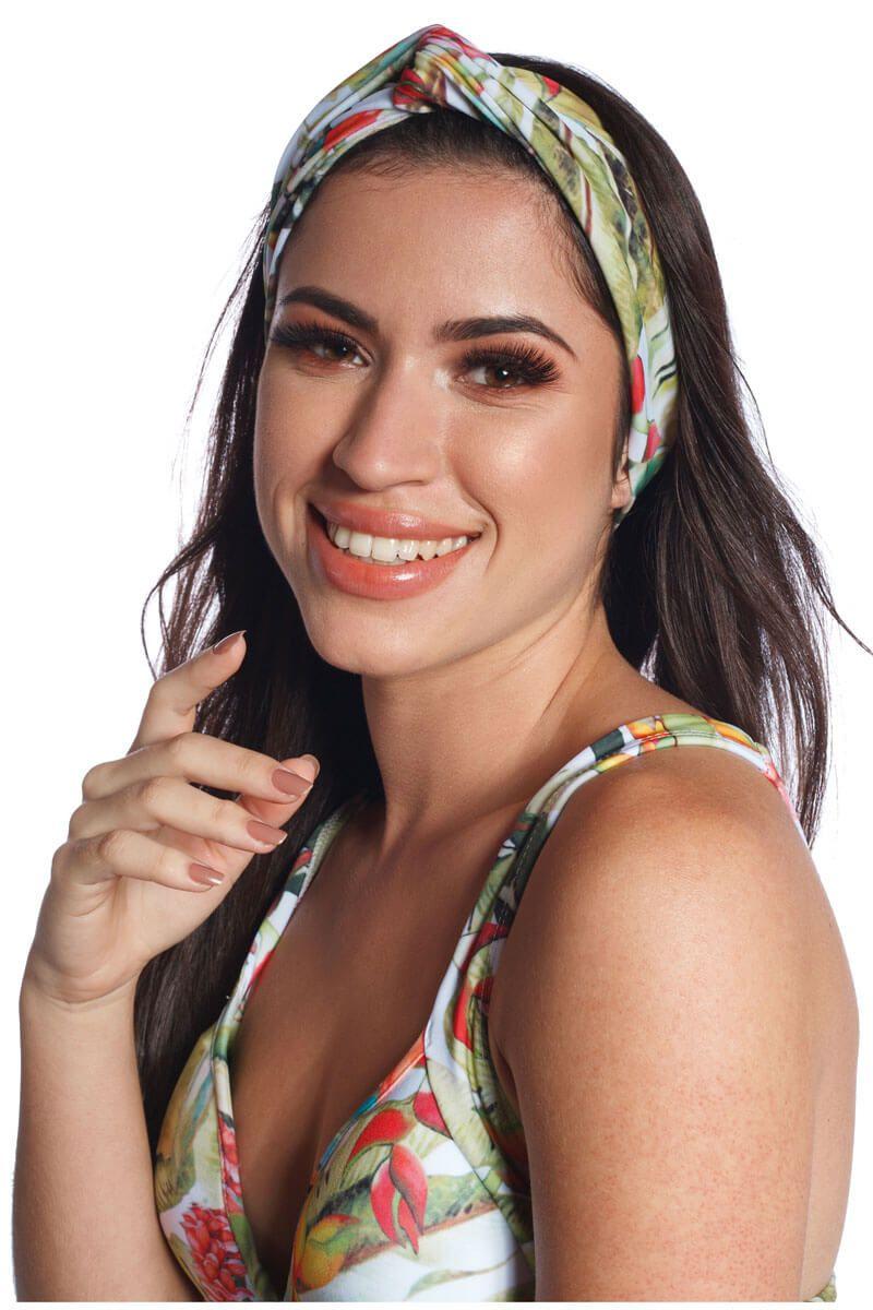 Tiara Bandana Helicônias