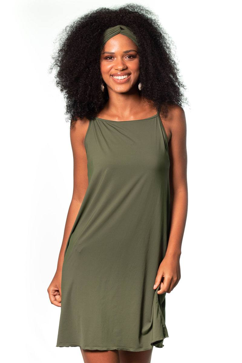 Vestido Regata Soltinho Verde