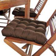 Assento Para Cadeira Futton - 40 X 40 Cm Tabaco