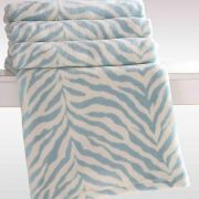 Cobertor Manta Microfibra Printed Azul 2,20 X 2,40