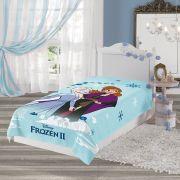 Manta Infantil Fleece Solteiro Frozen