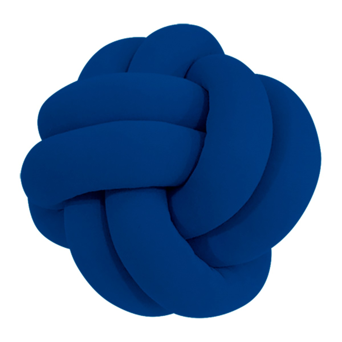 Almofada de No Escandinavo Decorativa Azul Royal 29cm