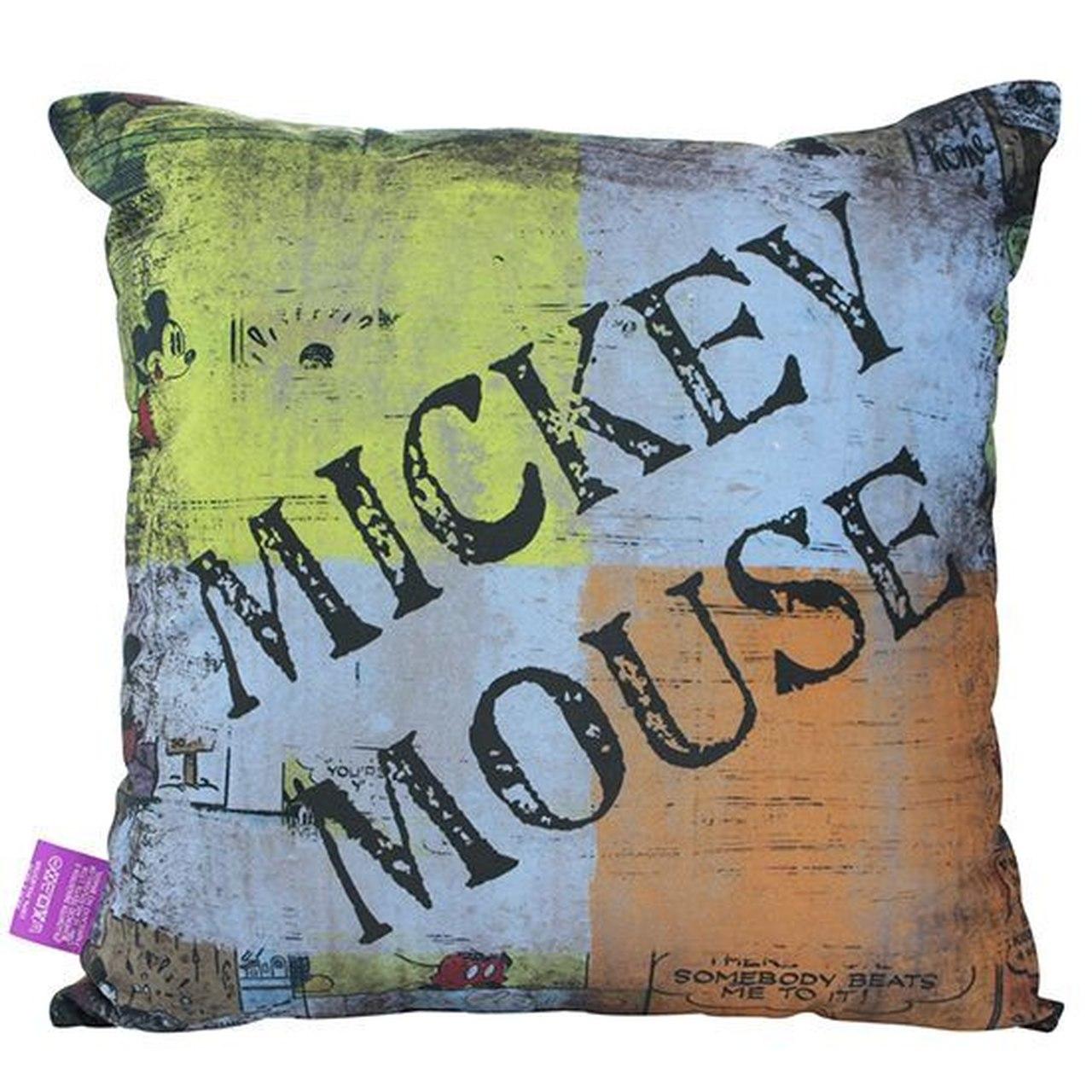 Almofada Fibra De Veludo Mickey Mouse
