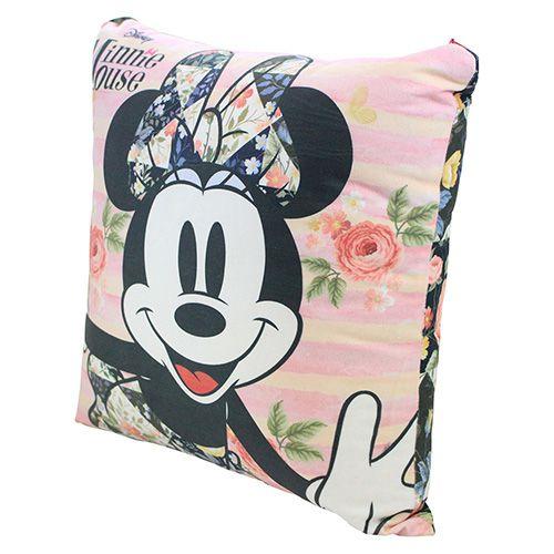 Almofada Fibra de Veludo Minnie Flores
