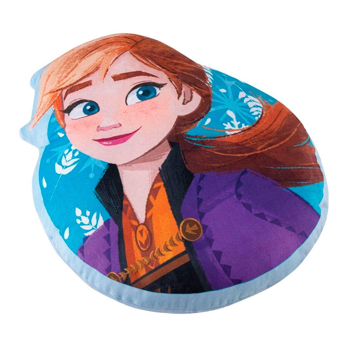Almofada infantil transfer Frozen Anna 34x 40cm