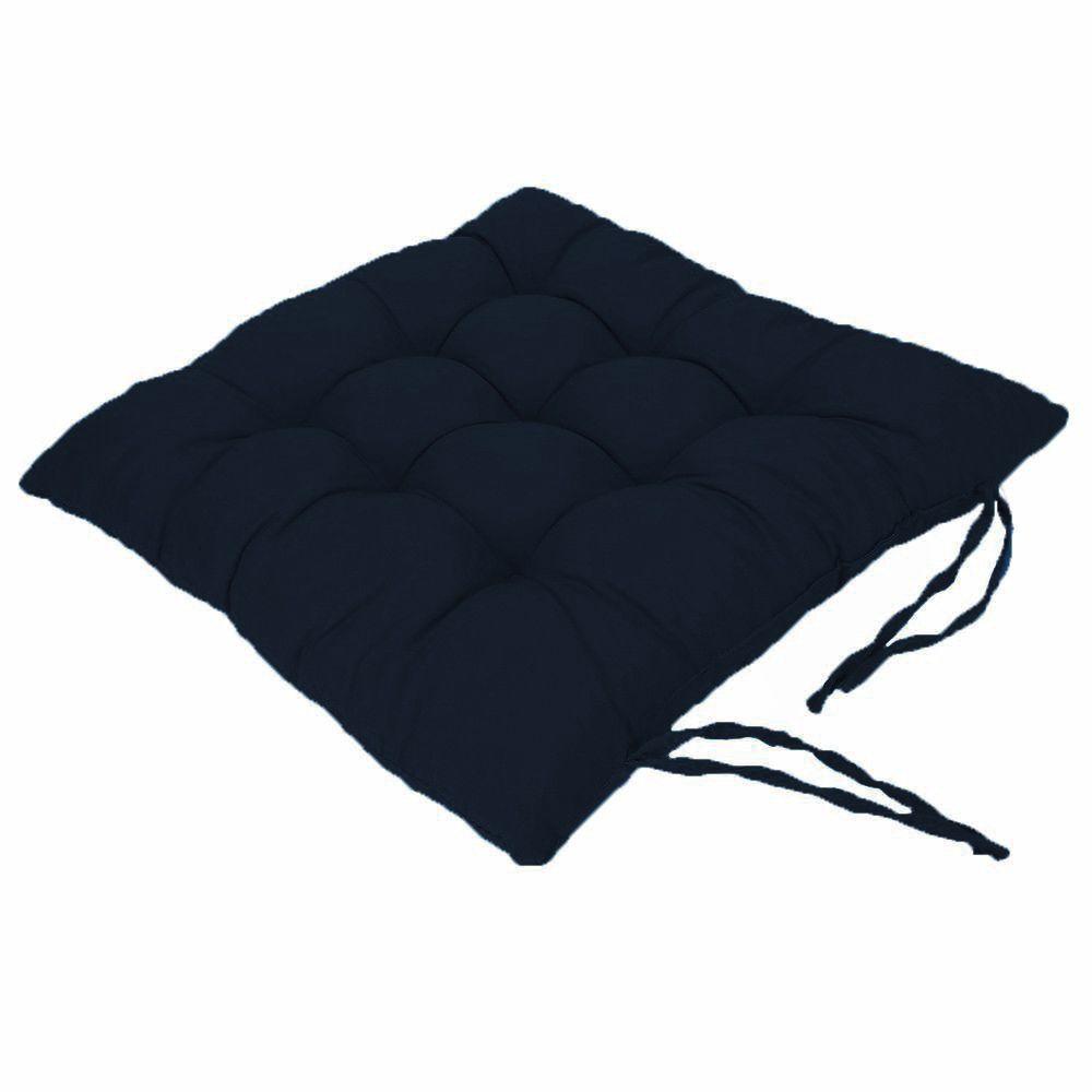 Assento Para Cadeira Futon Oxford Azul Marinho