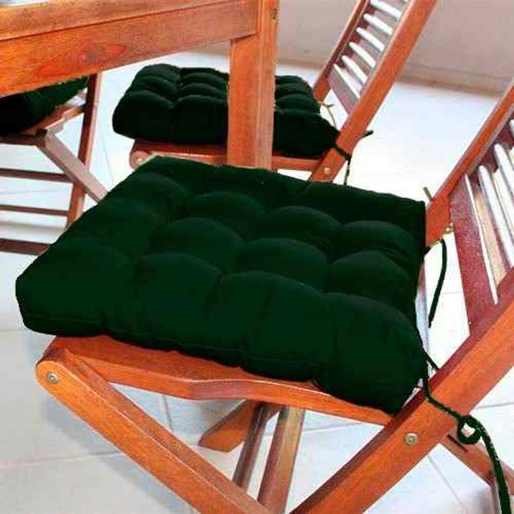 Assento Para Cadeira Futon Verde Musgo