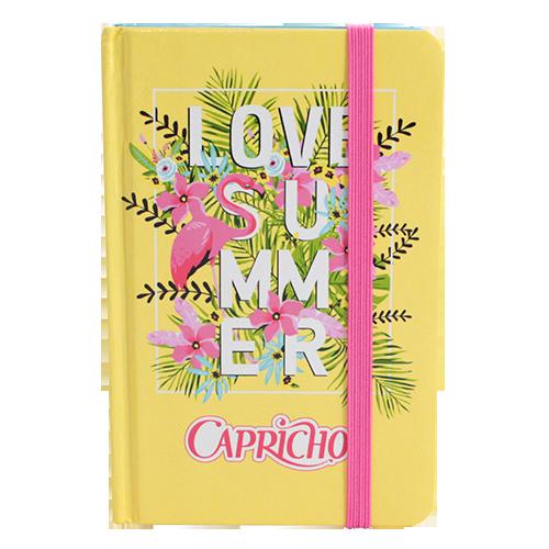 Caderno De Anotações Com Pauta Love Summer