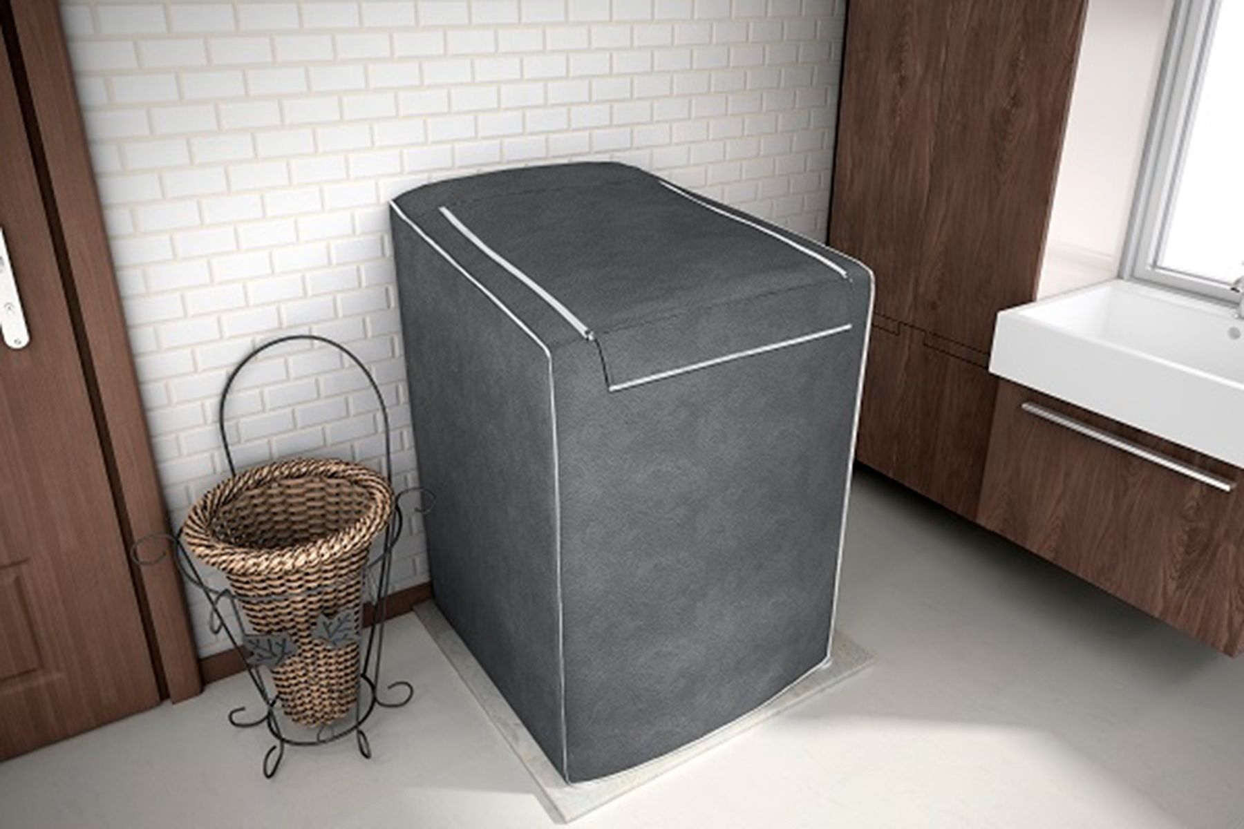 Capa P/ Maquina De Lavar Roupas Eletrolux 10kg 11kg 12kg CHUMBO