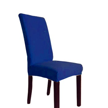 Capa Para Cadeira Avulsa Cacharrel Tam Unico Azul Royal
