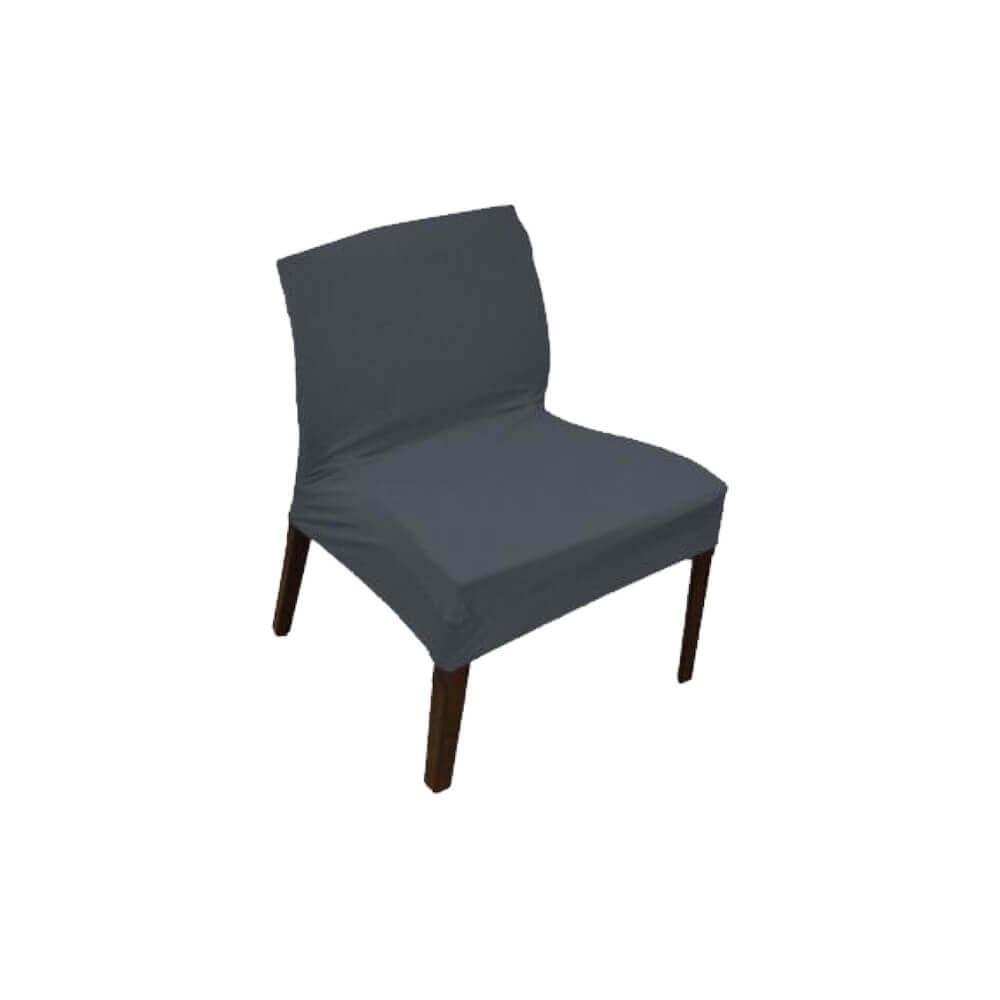 Capa para Cadeira Master Flexivel Cinza Sultan