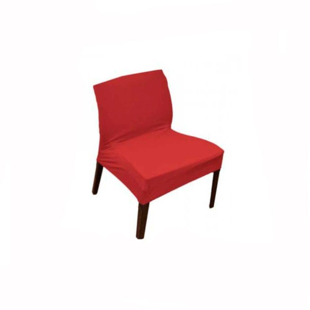 Capa para Cadeira Master Flexivel Vermelha Sultan