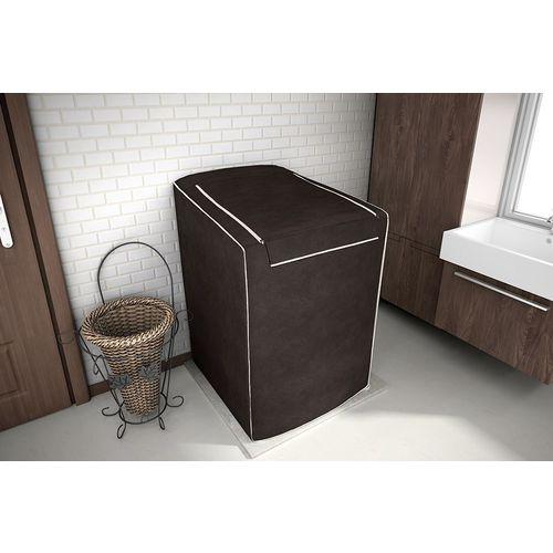 Capa para maquina de lavar Eletrolux, Brastemp, Consul 10,11 e 11,5 KG Cafe