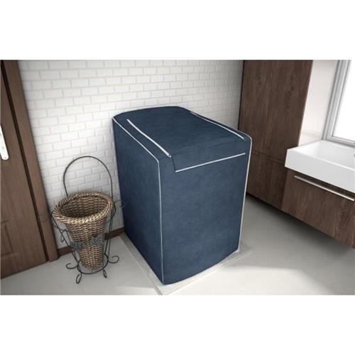 Capa Para Maquina De Lavar Eletrolux, Brastemp, Consul 12, 13, 15 E 16 Kg Azul Cobalto
