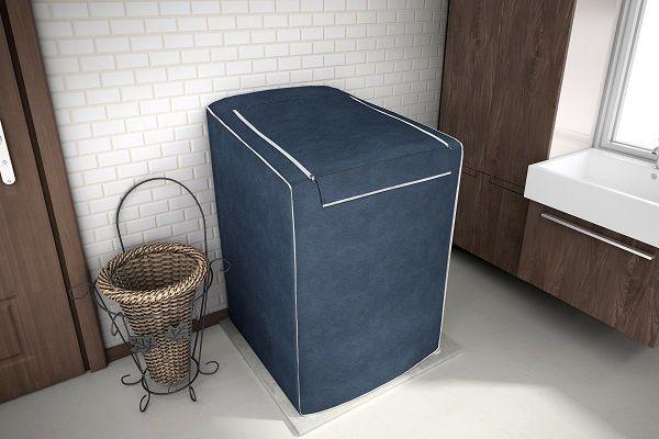 Capa para Máquina de Lavar Eletrolux, Brastemp, Consul 7, 8 e 9 KG Azul Cobalto