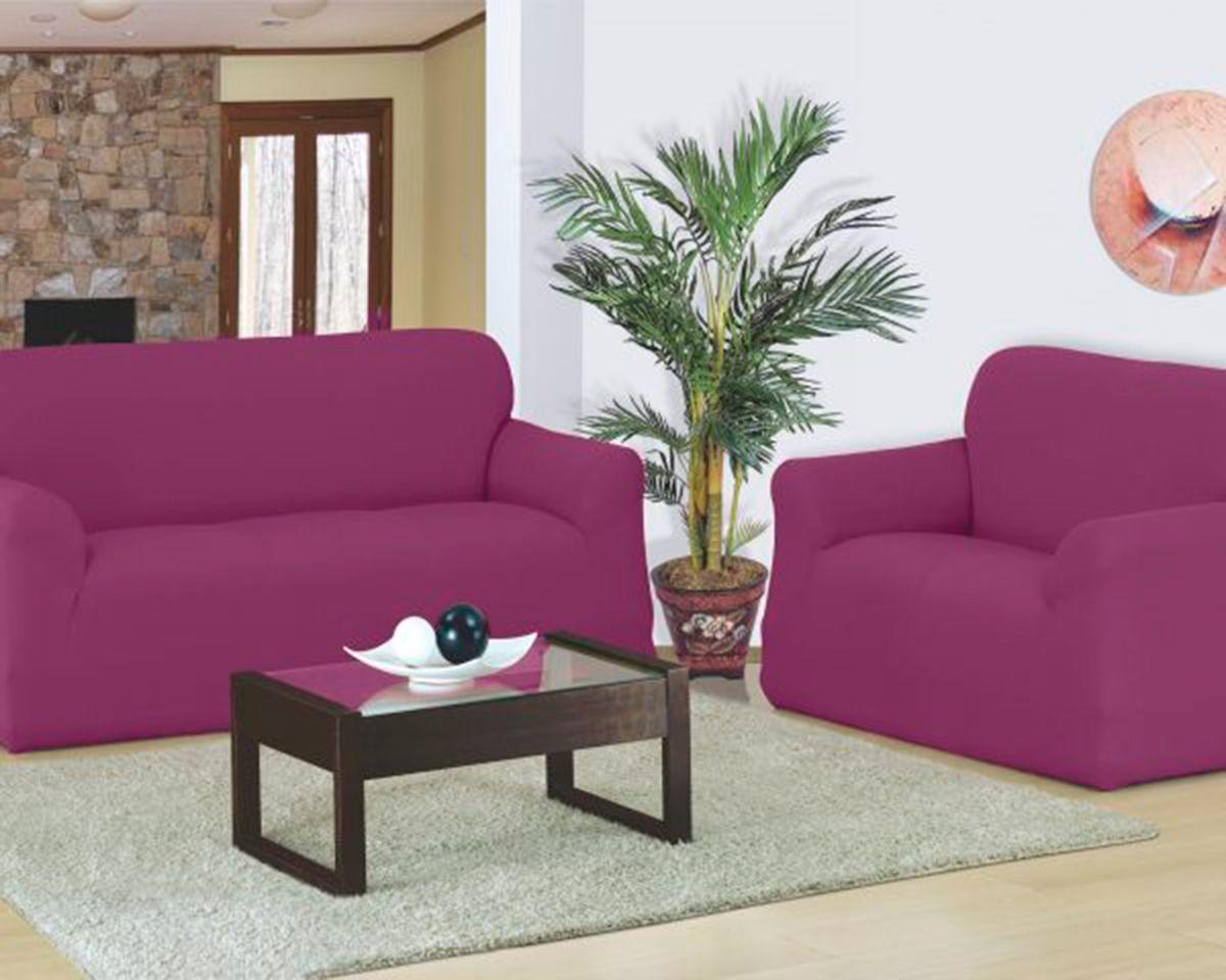 Capa para sofa Favorita 2 e 3 Lugares Vinho