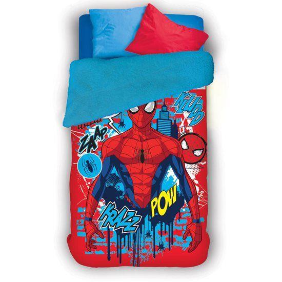 Coberdrom Fleece Dupla Face Spider Man Lepper Mod 2