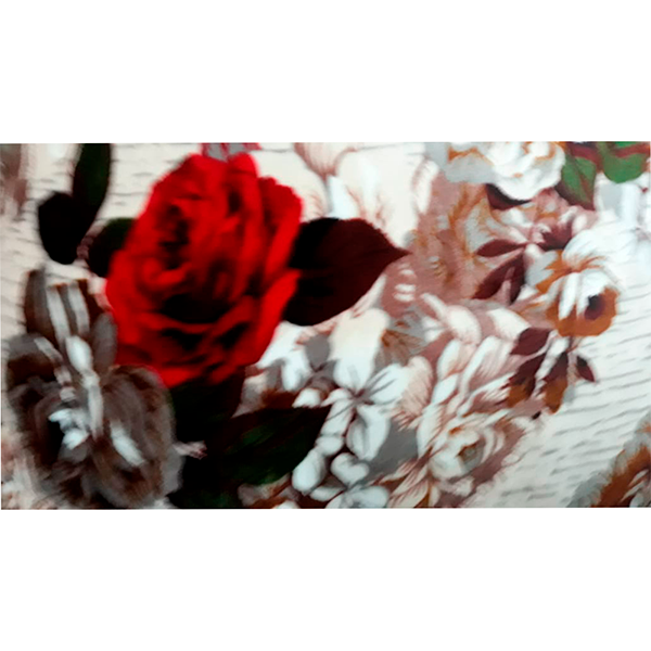 Coberdrom Sherpa 2,45x2,20 Floral Casal