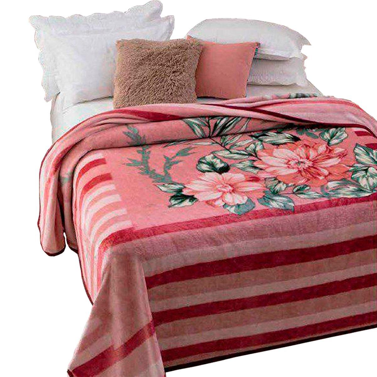 Cobertor Dyuri C/ cinta Casal Melville 180x220cm