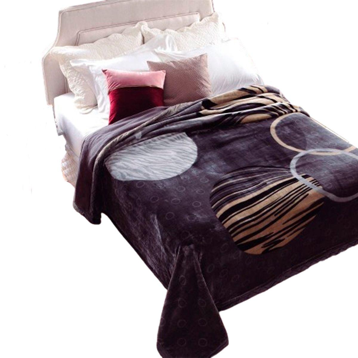 Cobertor Raschel Double Action Casal Atlantic 180x220cm